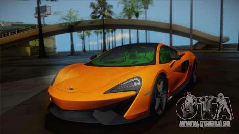 McLaren 570GT 2016 für GTA San Andreas