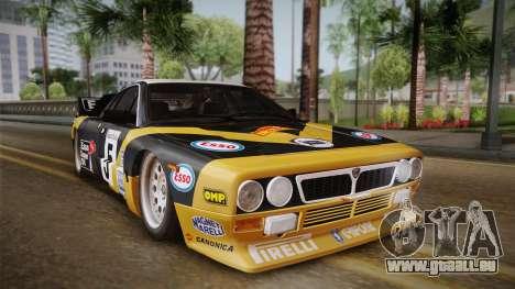 Lancia Rally 037 Stradale (SE037) 1982 HQLM PJ2 für GTA San Andreas rechten Ansicht