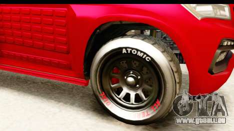 GTA 5 Benefactor XLS Armored IVF pour GTA San Andreas vue intérieure