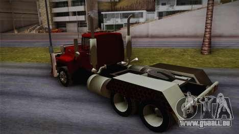 Mack R600 v2 pour GTA San Andreas laissé vue