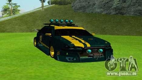 VAZ 2114 DTM TURBO SPORTS 2 pour GTA San Andreas