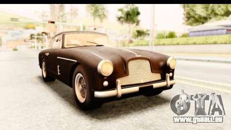 Aston Martin DB2 Mk II 39 1955 für GTA San Andreas zurück linke Ansicht