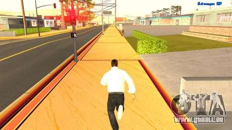 Sans fin de course pour GTA San Andreas deuxième écran