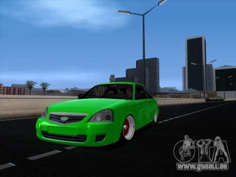 VAZ 2112 für GTA San Andreas linke Ansicht