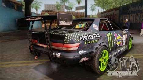 D1GP Toyota Mark II Sunoco Monster pour GTA San Andreas laissé vue