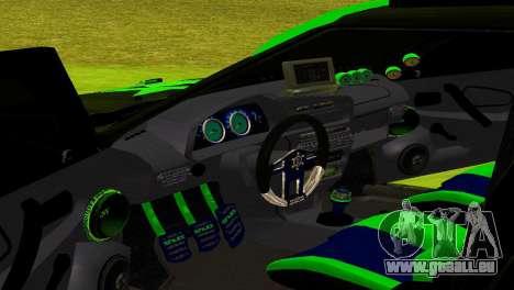 ВАЗ 2114-DTM TURBO SPORT für GTA San Andreas Innenansicht