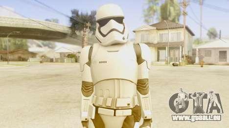 Star Wars Ep 7 First Order Trooper für GTA San Andreas