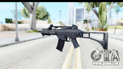 G36C für GTA San Andreas dritten Screenshot