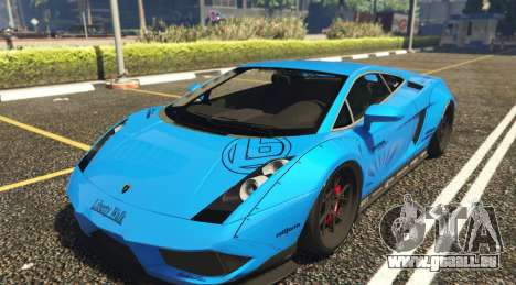 Lamborghini Gallardo Liberty Walk LB Performance pour GTA 5