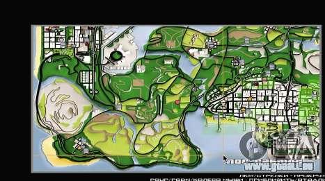 Remaster Map Full Version für GTA San Andreas dritten Screenshot