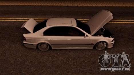 BMW M5 E39 für GTA San Andreas Seitenansicht
