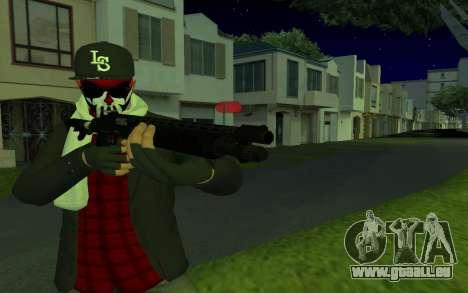 GTA Online Skin pour GTA San Andreas deuxième écran