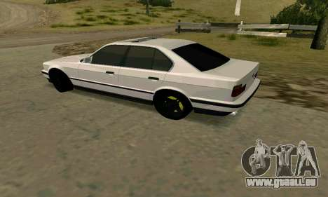 BMW 535i E34G für GTA San Andreas zurück linke Ansicht
