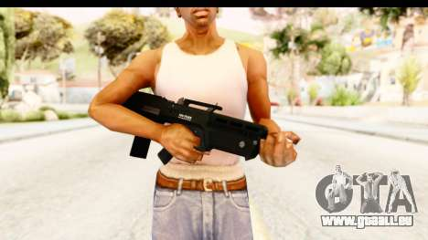 GTA 5 Vom Feuer Advanced Rifle für GTA San Andreas dritten Screenshot