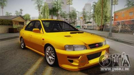 Subaru Impreza WRX STI GC8 1999 v1.0 für GTA San Andreas Innenansicht