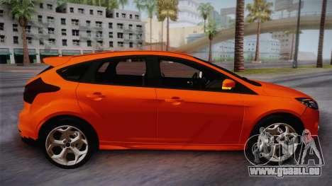 Ford Focus 2012 für GTA San Andreas zurück linke Ansicht