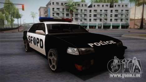 Sultan SFPD für GTA San Andreas