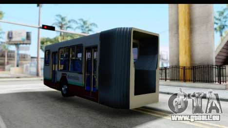 Metrobus de la Ciudad de Mexico Trailer pour GTA San Andreas vue de droite