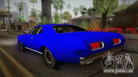 Bestia 1971 from Midnight Club 2 pour GTA San Andreas laissé vue