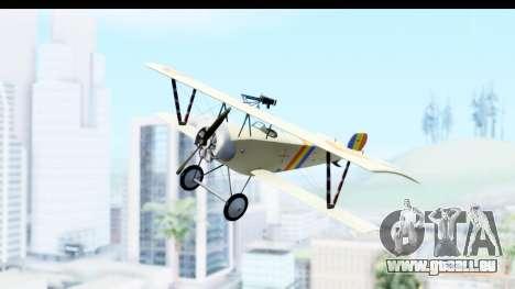 Nieuport 11 Bebe - Nr.865 Romania pour GTA San Andreas