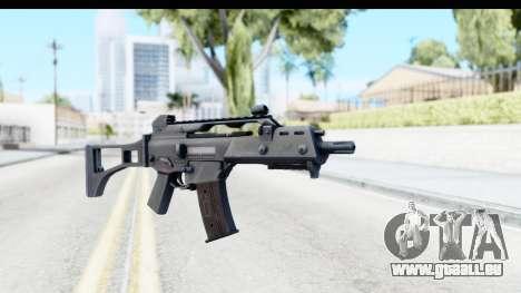 G36C für GTA San Andreas zweiten Screenshot