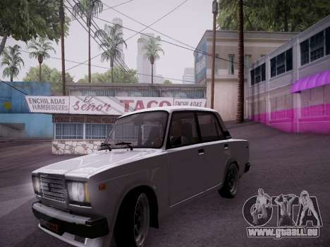 VAZ 2107 Tipo-stance pour GTA San Andreas