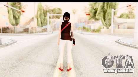 Mirrors Edge Catalyst Faith pour GTA San Andreas troisième écran
