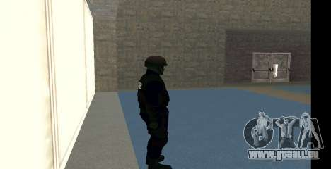 GTA 5 FIB SWAT Blue für GTA San Andreas fünften Screenshot