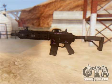 GTA 5 Vom Feuer Carbine Rifle für GTA San Andreas