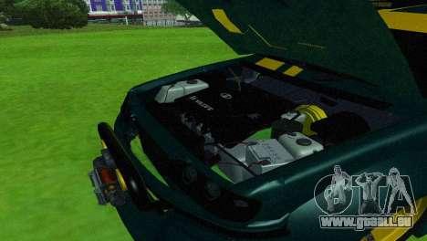 VAZ 2114 DTM TURBO SPORTS 2 pour GTA San Andreas vue intérieure