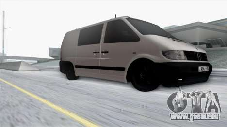 Mercedes-Benz Vito pour GTA San Andreas vue de côté