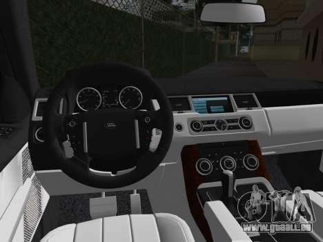 Range Rover Sport HSE (Rims 1) v2.0 für GTA Vice City Innenansicht