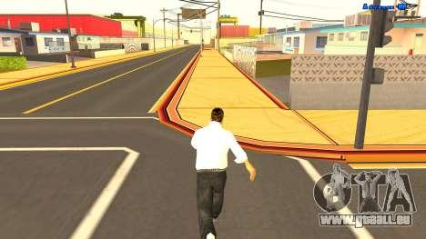 Sans fin de course pour GTA San Andreas troisième écran