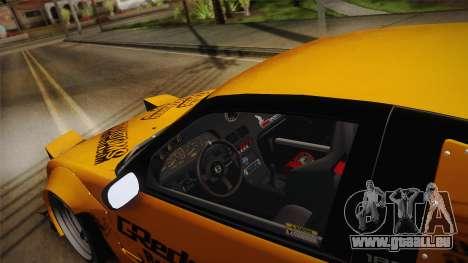 Nissan 180SX Rocket Bunny für GTA San Andreas Innenansicht