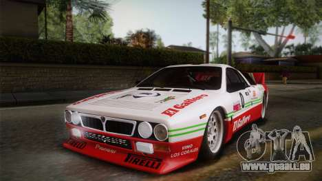 Lancia Rally 037 Stradale (SE037) 1982 IVF PJ1 für GTA San Andreas