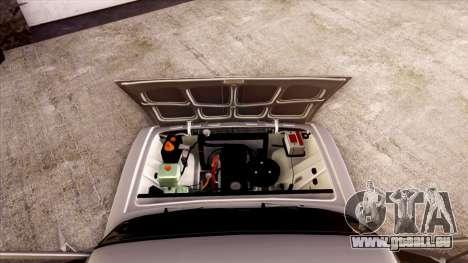 VAZ 2103 pour GTA San Andreas vue de dessous