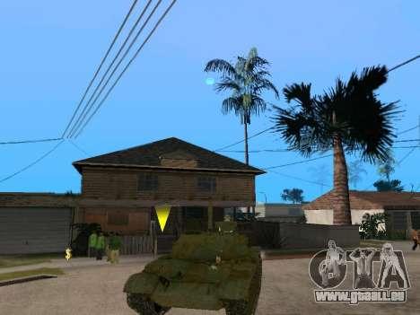 T-62 für GTA San Andreas rechten Ansicht