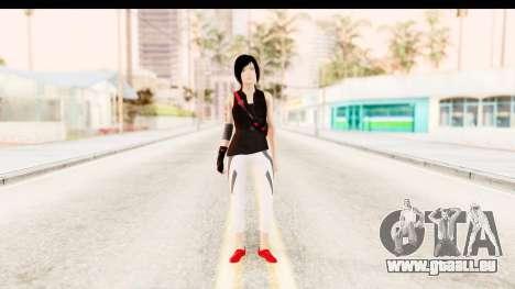 Mirrors Edge Catalyst Faith pour GTA San Andreas deuxième écran