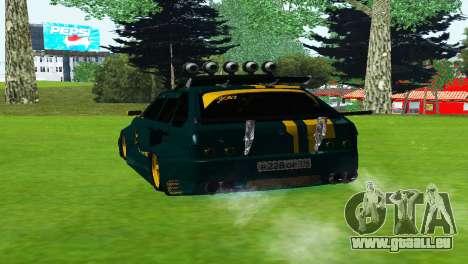 VAZ 2114 DTM TURBO SPORTS 2 pour GTA San Andreas sur la vue arrière gauche
