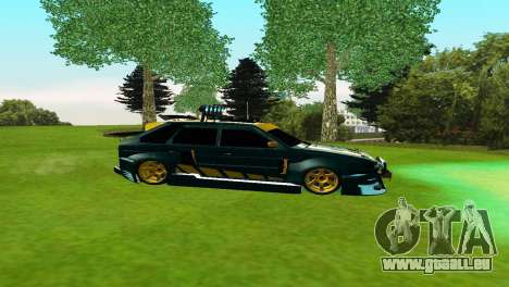 VAZ 2114 DTM TURBO SPORTS 2 für GTA San Andreas linke Ansicht
