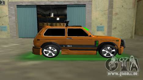 VAZ 21213 NIVA 4x4 Tuning für GTA Vice City linke Ansicht