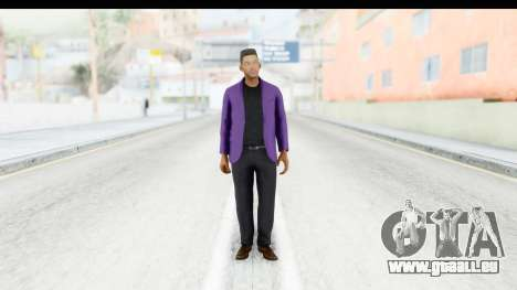 Will Smith Fresh Prince of Bel Air v2 für GTA San Andreas zweiten Screenshot