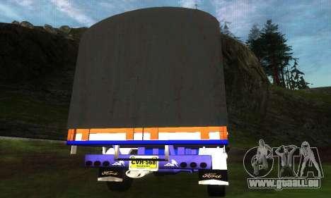 Ford Transit Stylo Colombia pour GTA San Andreas sur la vue arrière gauche