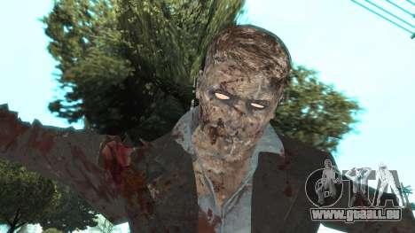 Zombie from Black Ops 3 pour GTA San Andreas quatrième écran