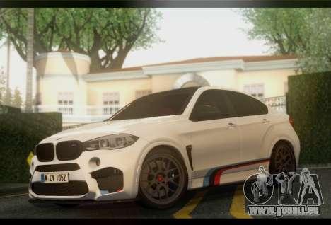 BMW X6M PML ED für GTA San Andreas