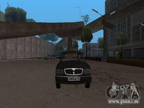 GAZ-310221 für GTA San Andreas linke Ansicht