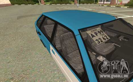 2109 für GTA San Andreas zurück linke Ansicht