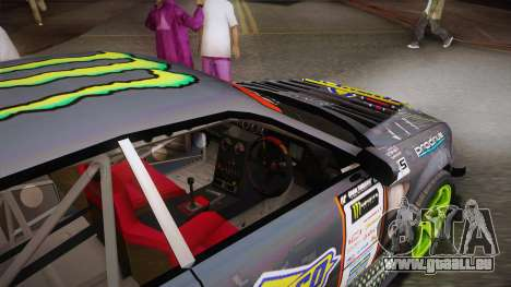 D1GP Toyota Mark II Sunoco Monster pour GTA San Andreas vue intérieure