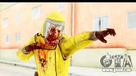 Zombie Radioactivo für GTA San Andreas