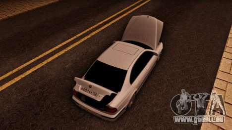BMW M5 E39 für GTA San Andreas Rückansicht